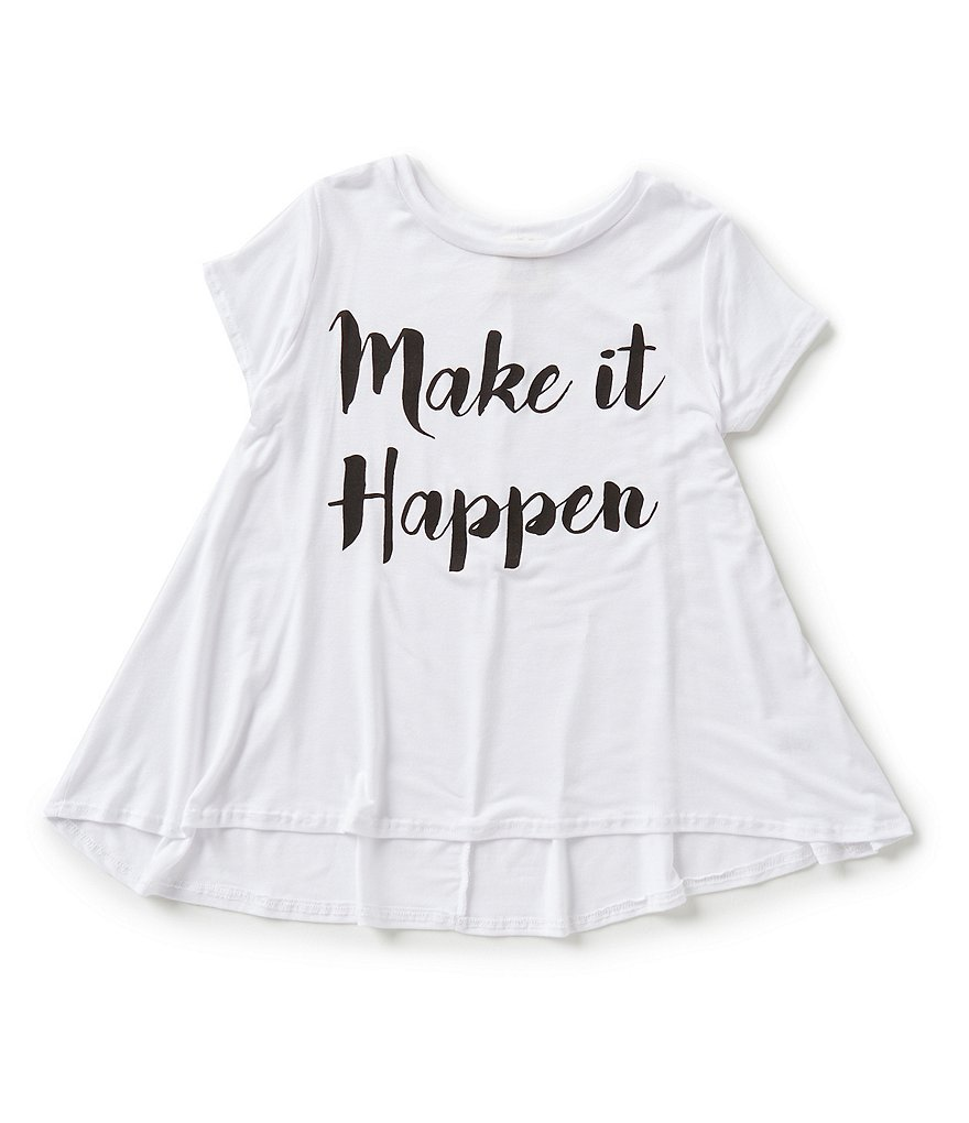 People´s Project LA Big Girls 7-16 Make It Happen Tee