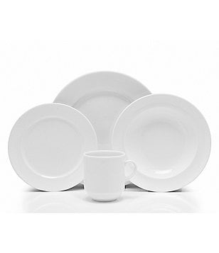Fortessa Cassia Vitrified China 16-Piece Dinnerware Set