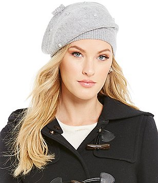 kate spade new york Stone-Embellished Beret