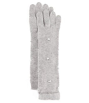 kate spade new york Stone-Embellished Gloves