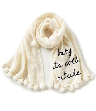kate spade new york Baby It´s Cold Outside Muffler