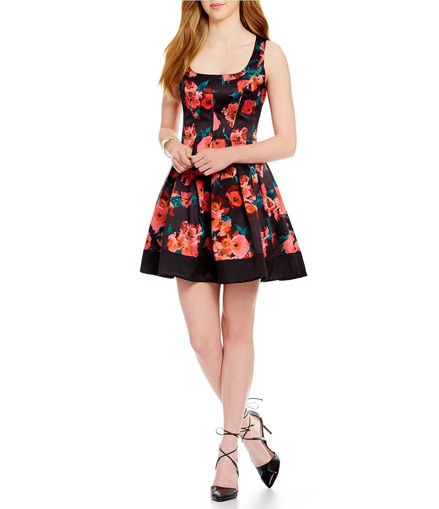 French Connection Floral Allegro Poppy Dress