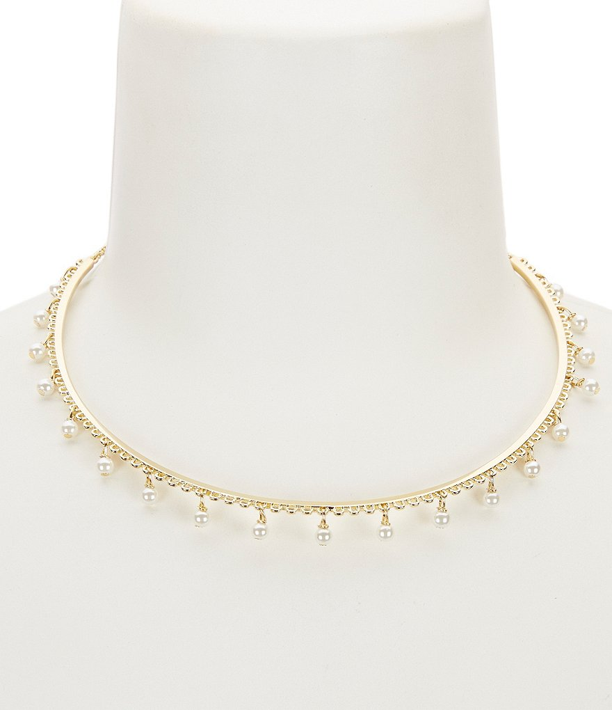 kate spade new york Chantilly Charm Collar Necklace