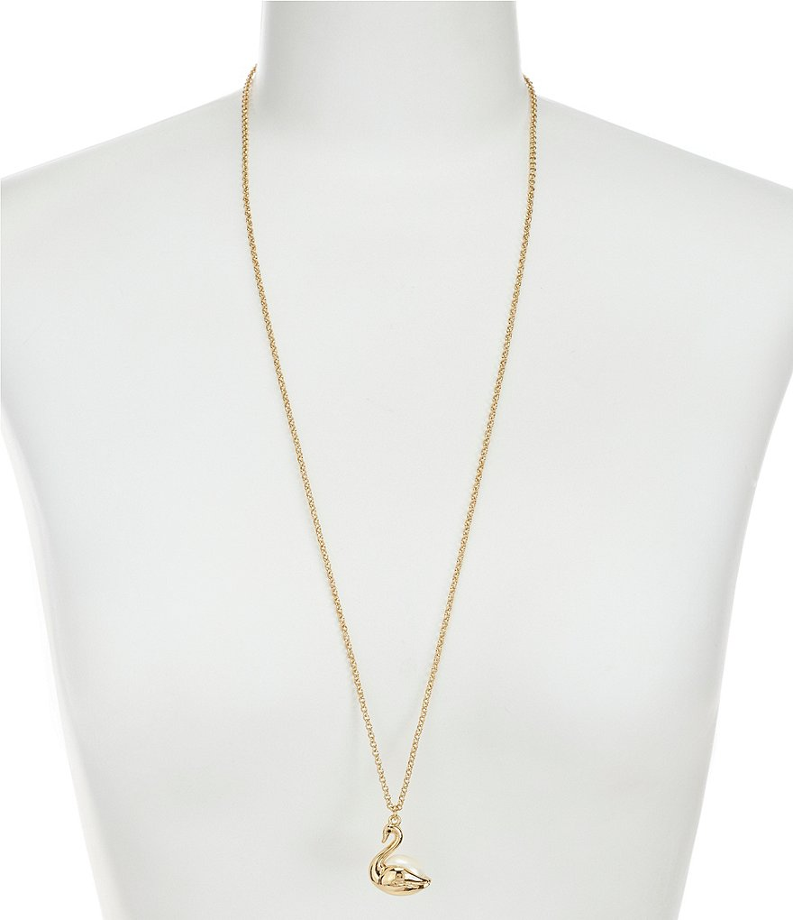 kate spade new york On Pointe Swan Pendant
