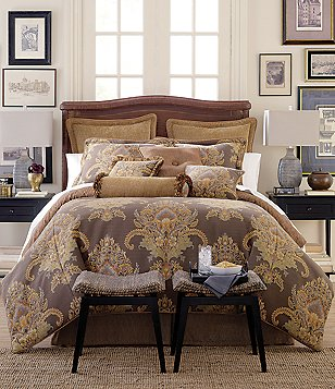 Rose Tree Bayonne Damask Comforter Set