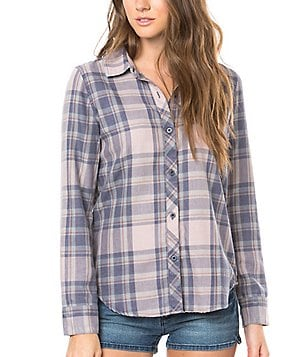 O´Neill Plaid Button-Front Shirt