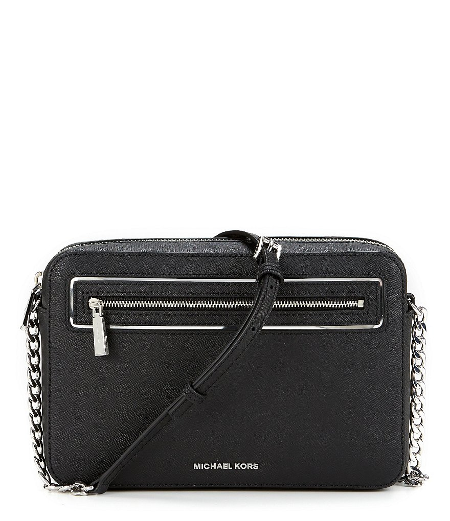 MICHAEL Michael Kors Saffiano Large East/West Cross-Body Bag