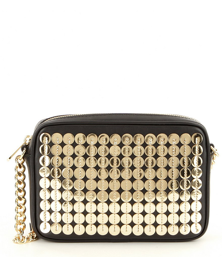 MICHAEL Michael Kors Sequined Medium Camera Cross-Body Bag