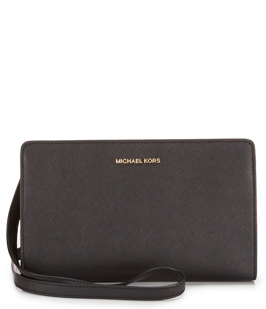 MICHAEL Michael Kors Large Cross-Body Clutch with Stickers
