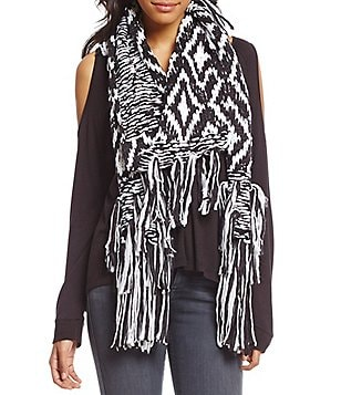 BCBGeneration Diamond Fringe Muffler