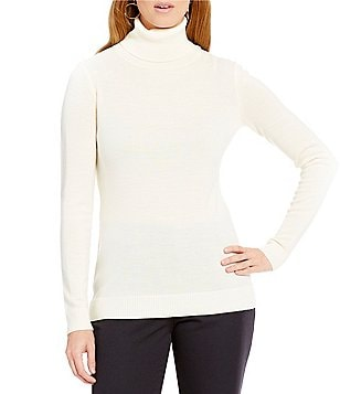 Pendleton Timeless Turtleneck Merino Wool Knit Top