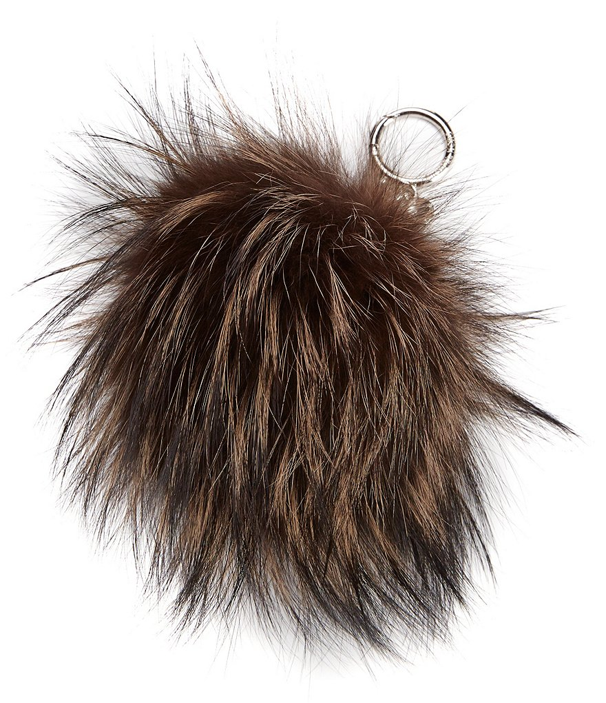 MICHAEL Michael Kors Large Fur Pom Pom Key Chain