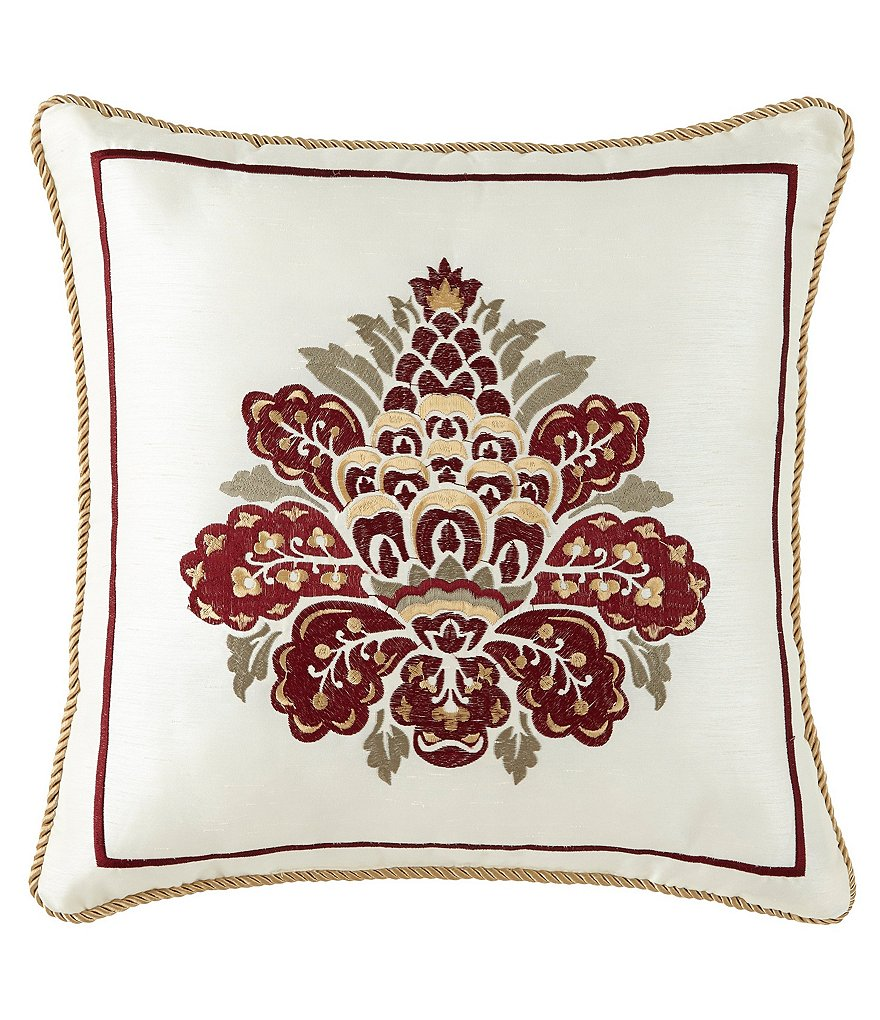 Waterford Beaumont Damask Square Pillow