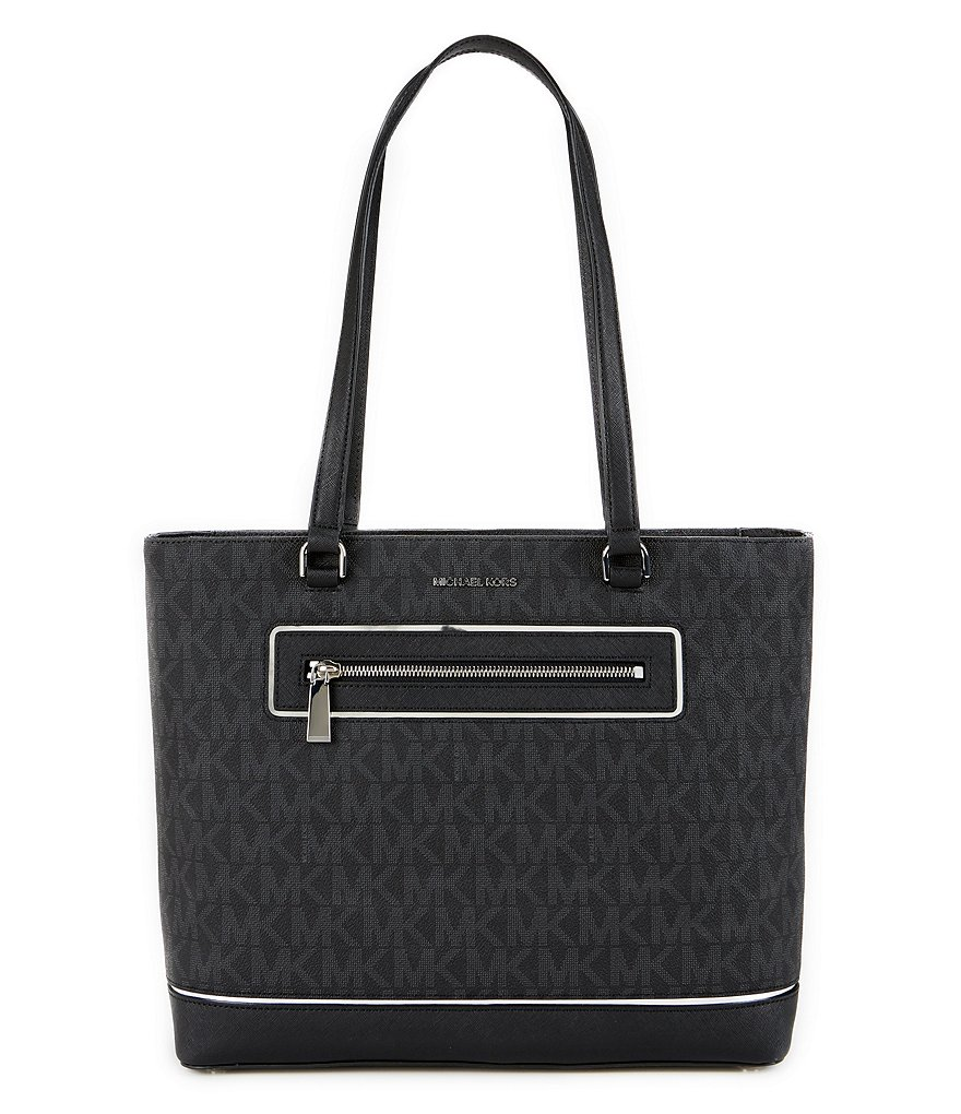 MICHAEL Michael Kors Signature North/South Laptop Work Tote