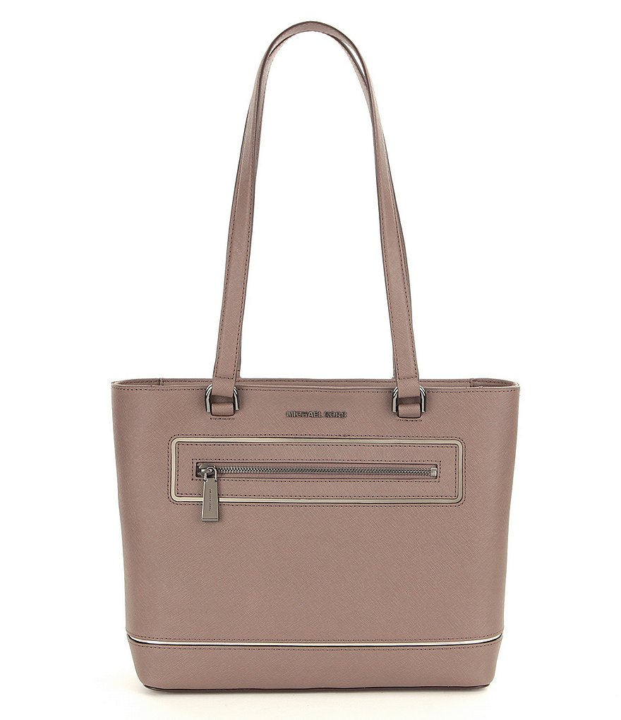 MICHAEL Michael Kors Saffiano Medium North/South Tote