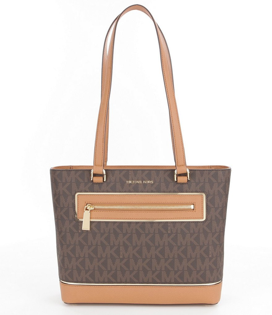 MICHAEL Michael Kors Signature Medium North/South Tote