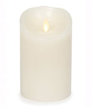 Luminara Vanilla-Scented LED Pillar Candle