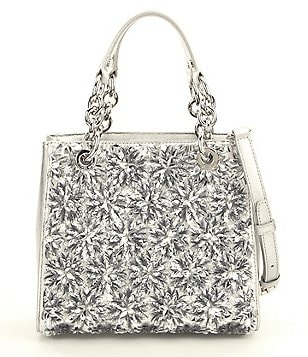 MICHAEL Michael Kors Flora Sequined Small Satchel