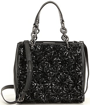 MICHAEL Michael Kors Flora Sequin Small Satchel