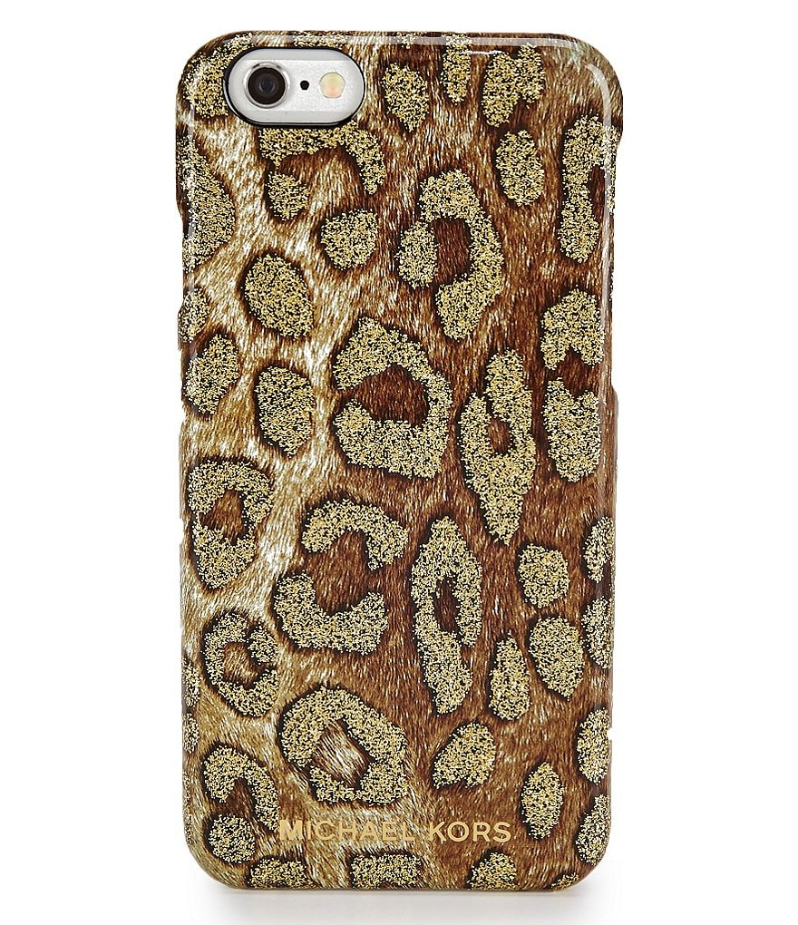 MICHAEL Michael Kors Glitter Cheetah iPhone 6 Cover