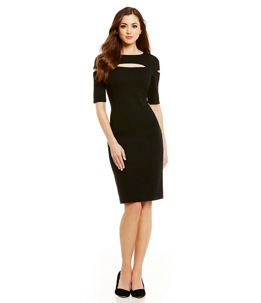 Antonio Melani Vicki Ponte Sheath Dress