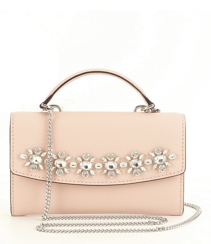 MICHAEL Michael Kors Ava Jeweled Large Phone Cross-Body Bag