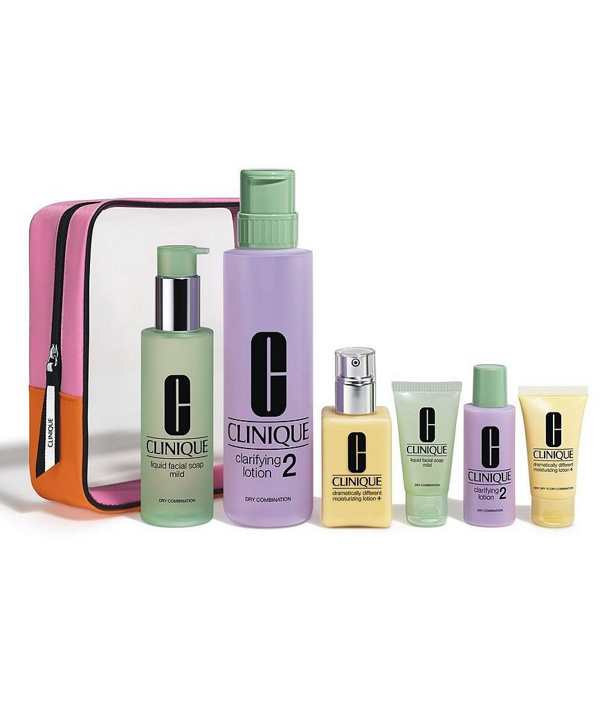 Clinique Great Skin Everywhere Set For Drier Skins