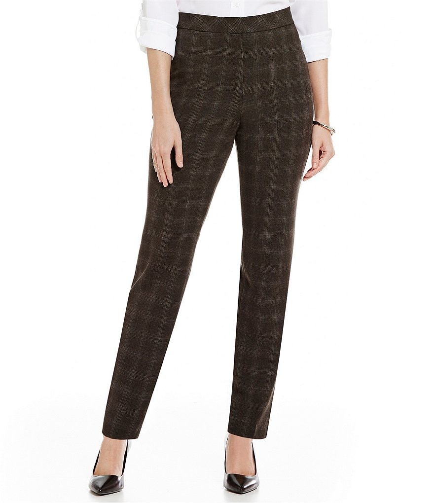 Investments Petite 5TH AVE fit Slim-Leg Pant