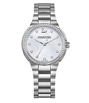 Swarovski City Mini Mother-of-Pearl Bracelet Watch