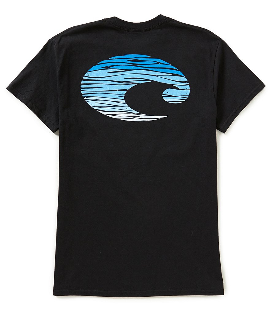 Costa Retro Short-Sleeve Logo Graphic Tee