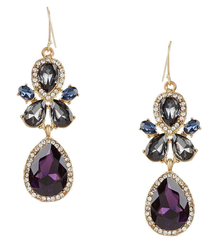 Belle Badgley Mischka Angelia Drop Earrings
