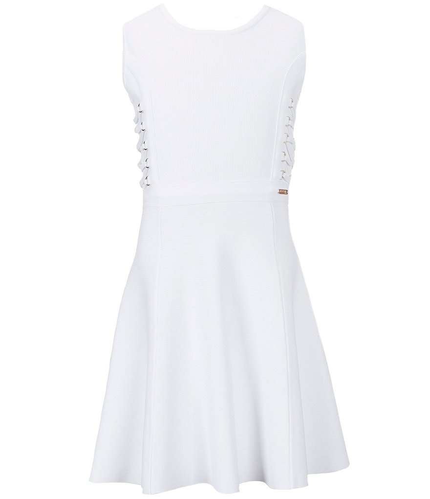 Marciano Big Girls 7-16 Sleeveless Cut-Out Skater Dress