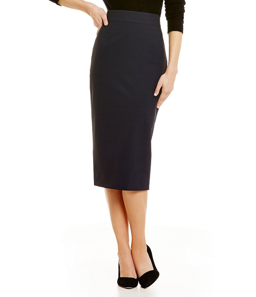 Antonio Melani Laurel Novelty Suiting Pencil Skirt