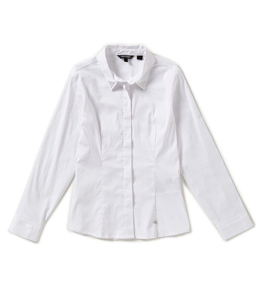 Marciano Big Girls 7-16 Button-Front Shirt