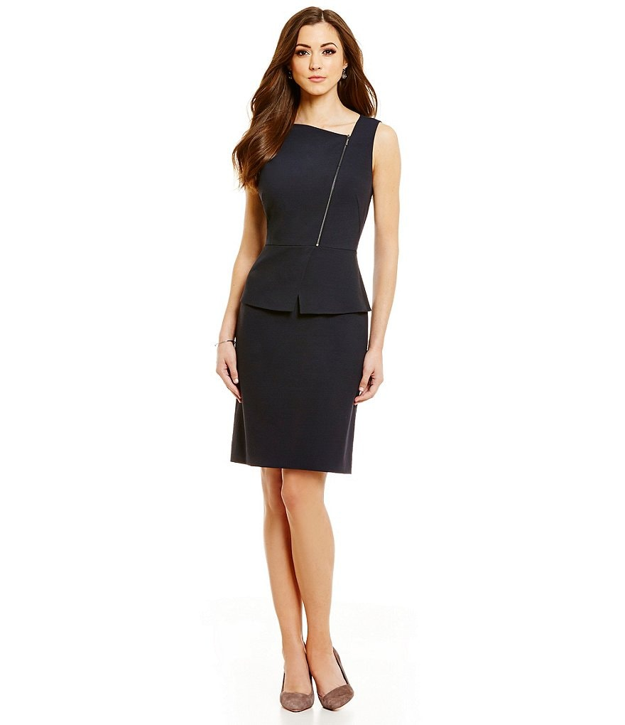 Antonio Melani Mulan Novelty Suiting Sheath Dress