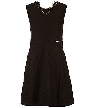Marciano Big Girls 7-16 Mesh Lace Skater Dress