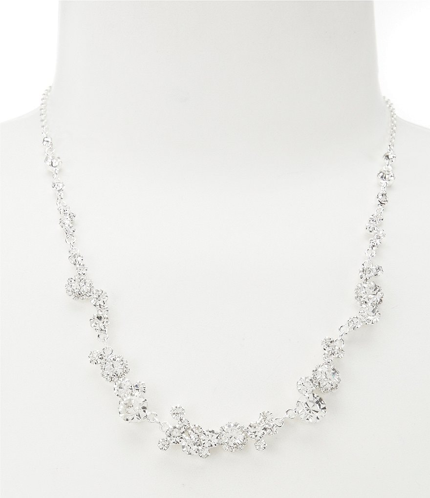 Cezanne Stone Trail Collar Necklace