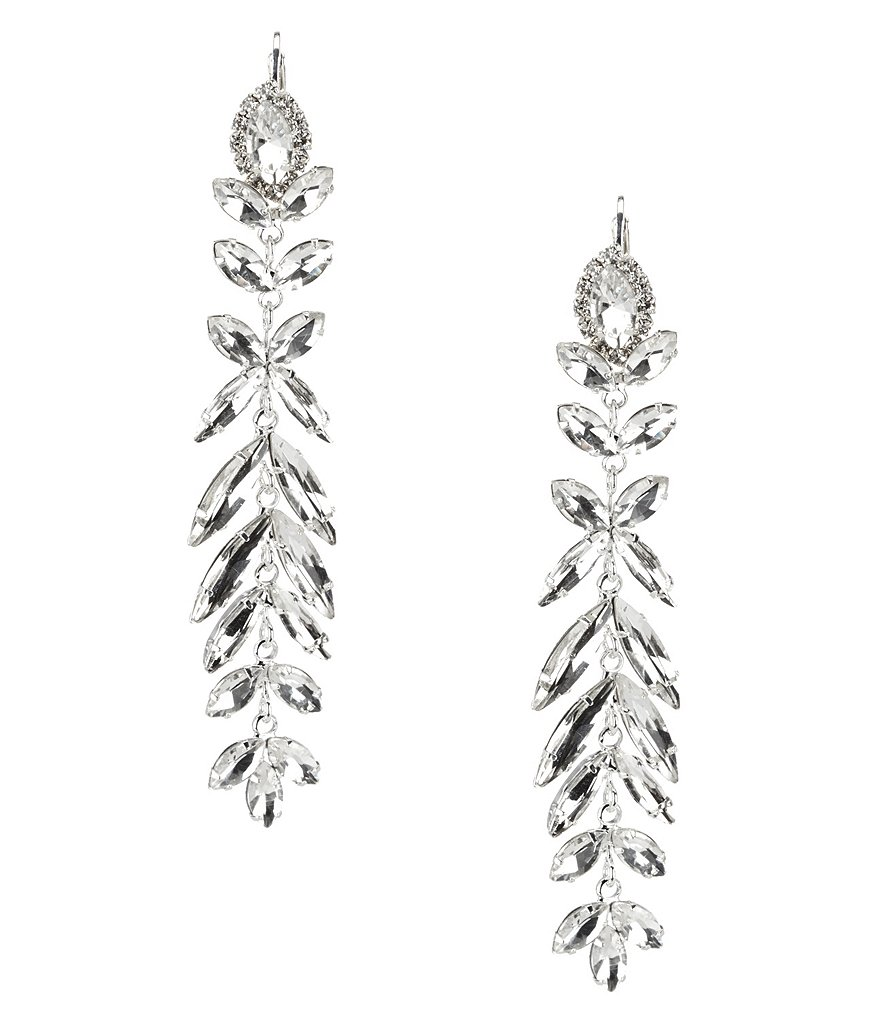 Cezanne Laurel Trail Linear Drop Earrings