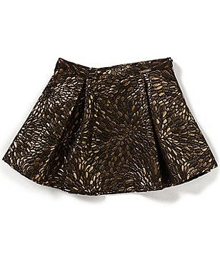 Marciano Big Girls 7-16 Metallic Brocade Skirt