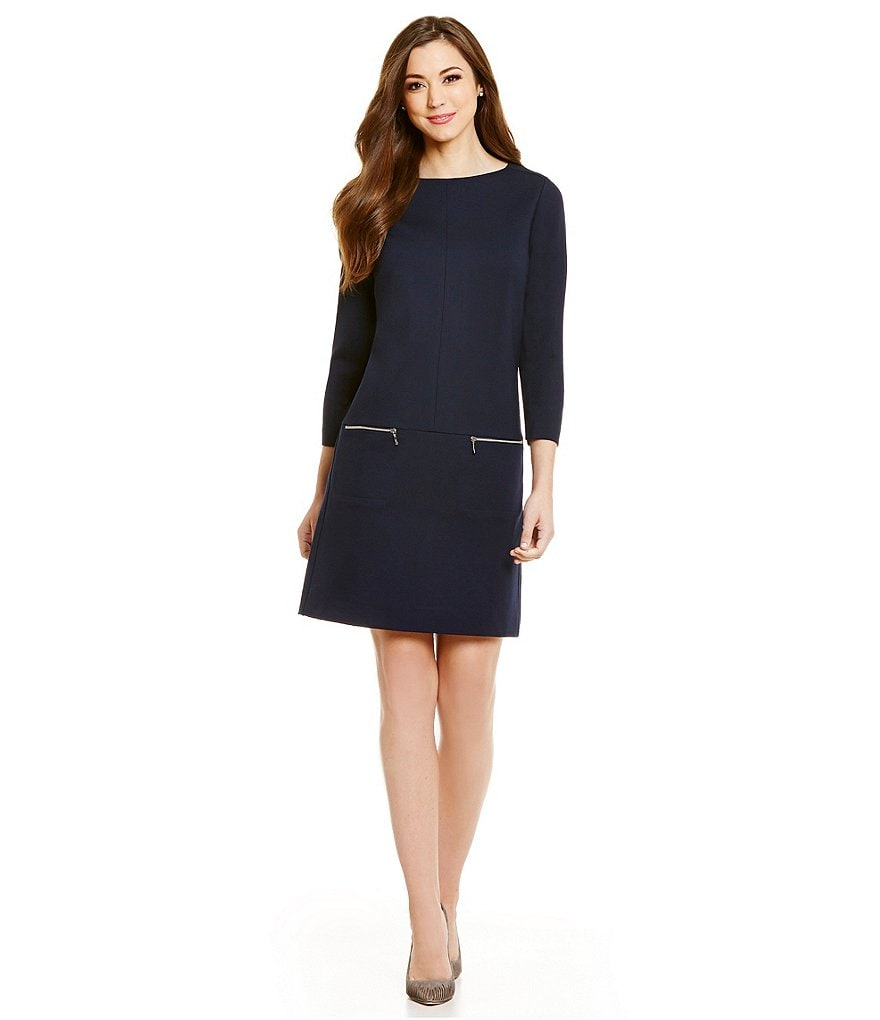Antonio Melani Bunny Ponte Dress