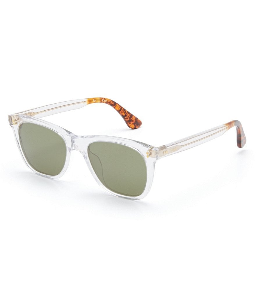TOMS Fitzpatrick Classic Retro Rectangle Sunglasses