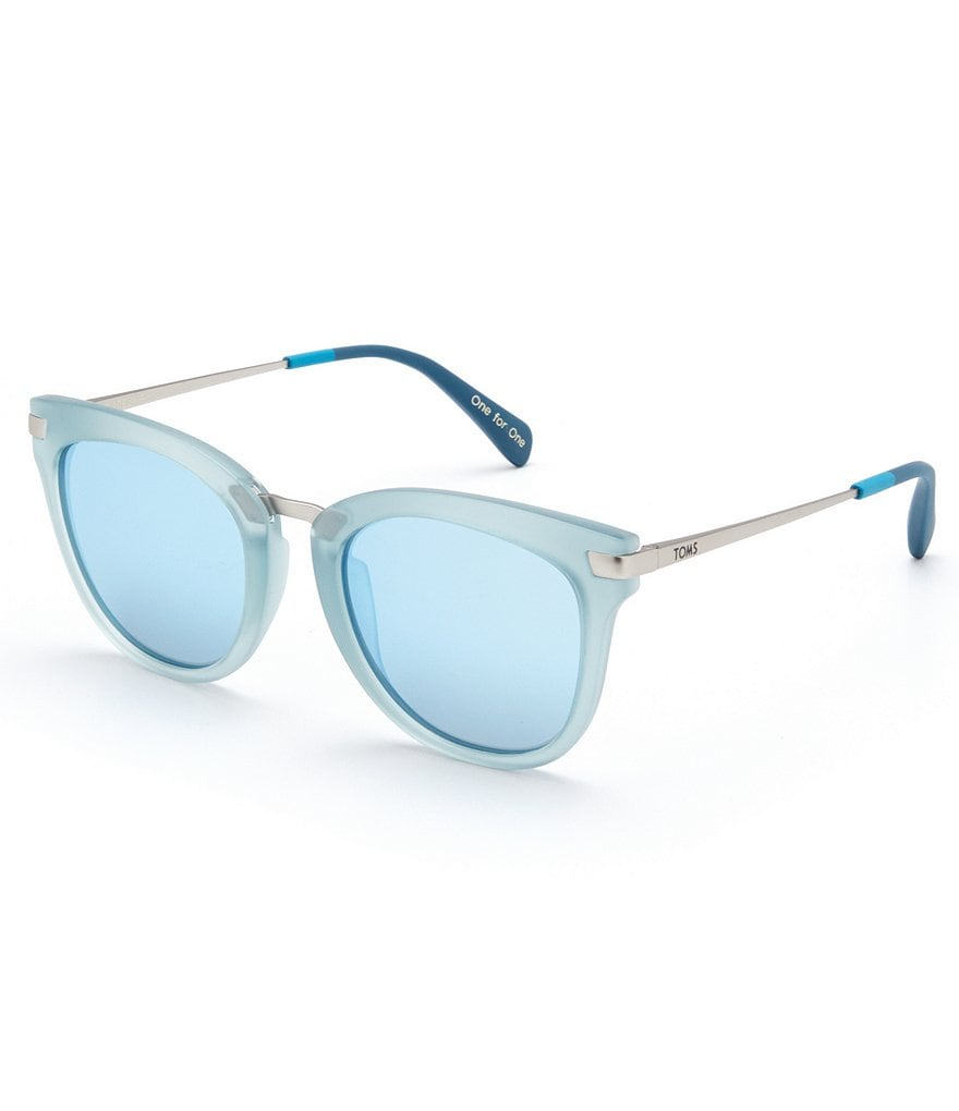TOMS Adeline Matte Butterfly Sunglasses