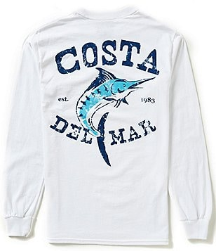 Costa Vintage Long-Sleeve Graphic Tee