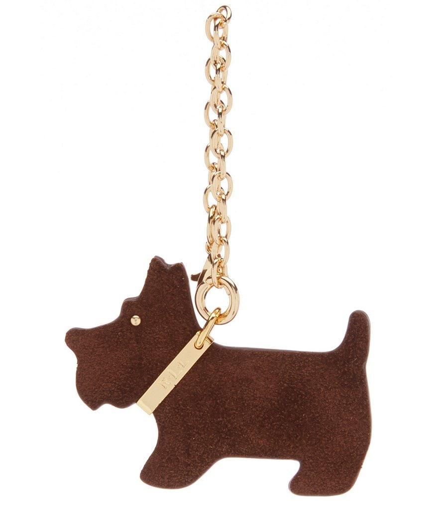 Lauren Ralph Lauren Scottie Dog Keychain