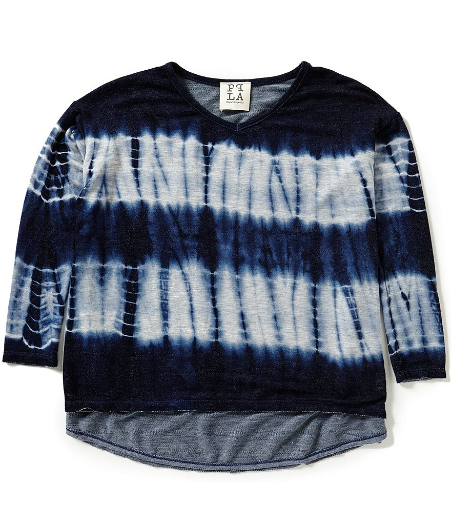 People´s Project LA Big Girls 7-16 Hail Tie-Dye Top