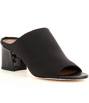 Donald J Pliner Ellis Peep Toe Slip-On Mules