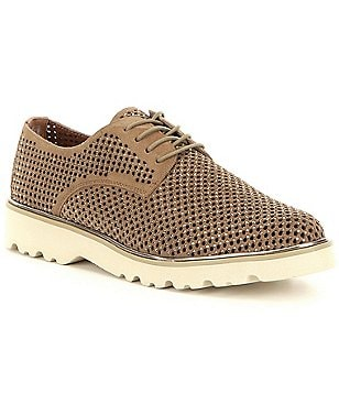 Donald J Pliner Connie Perforated Suede Lace-Up Oxfords