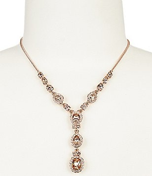 Givenchy Crystal Y-Necklace