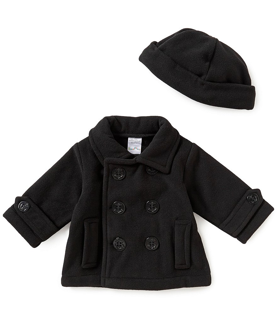 Starting Out Baby Boys 3-24 Months Peacoat and Matching Hat | Dillards