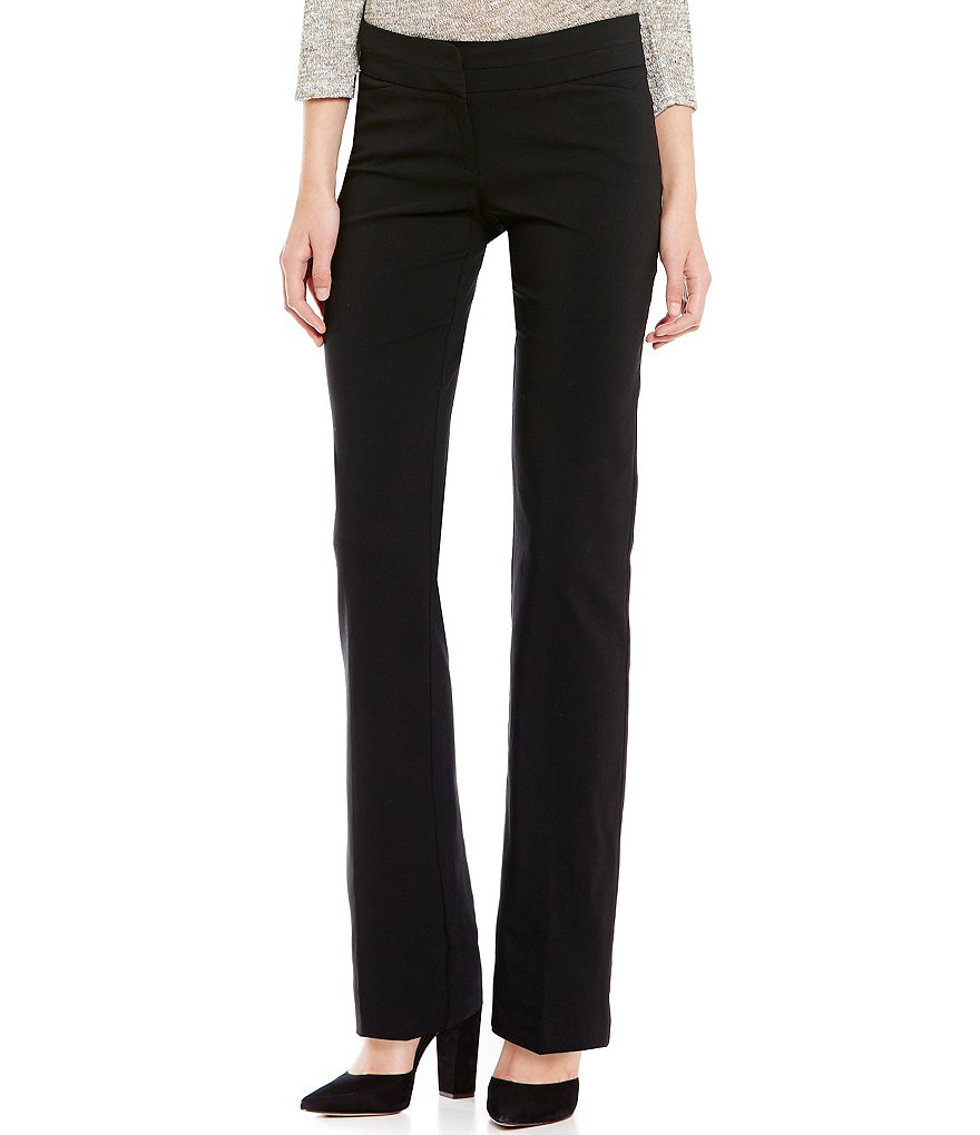 Soulmates Slanted-Pocket Double Waist Detail Pants